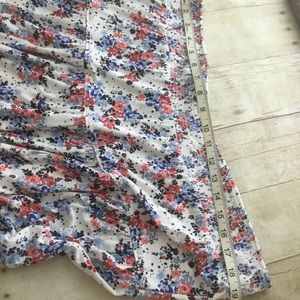St. John's Bay Skirts - Women's Soft Jersey Tiered Floral midi Skirt Plus